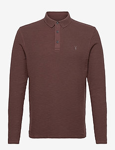 MUSE LS POLO - long-sleeved polos - oxblood red