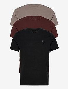 BRACE TONIC 3 PACK - basic t-shirts - black/grey/red