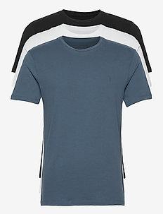 BRACE TONIC 3 PACK - basic t-shirts - black/white/blue