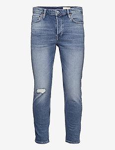 DEAN DAMAGED - slim jeans - light indigo