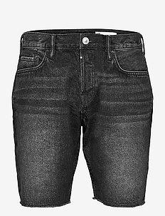 SWITCH SHORT - denim shorts - washed black
