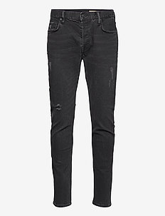 REX - relaxed jeans - washed black