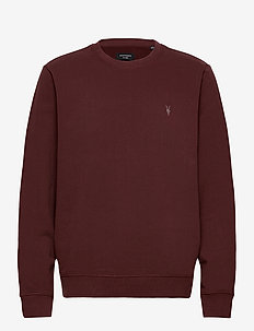 RAVEN CREW - swetry - burgundy red