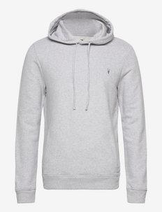 RAVEN OTH HOODY - basic sweatshirts - grey marl