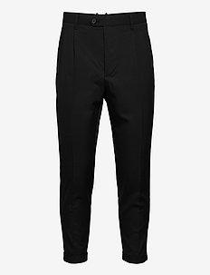 TALLIS TROUSER - suitbukser - black