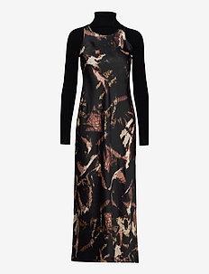 SIGOURNEY TYDY DRESS - avondjurken - black
