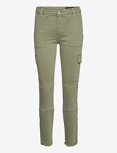 DURAN SKINNY CARGO - pantalons slim - khaki green