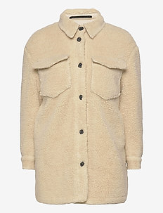 SOPHIE JACKET - wool jackets - stone white