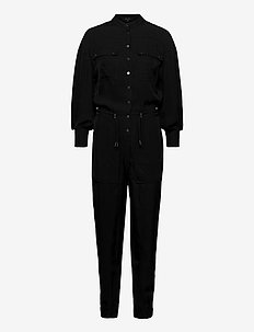 ENIA JUMPSUIT - jumpsuits - black