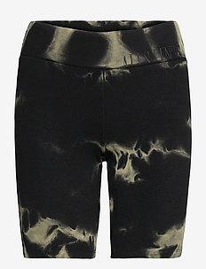 JAMIE TYDY BIKE SHOR - cycling shorts - black/khaki green