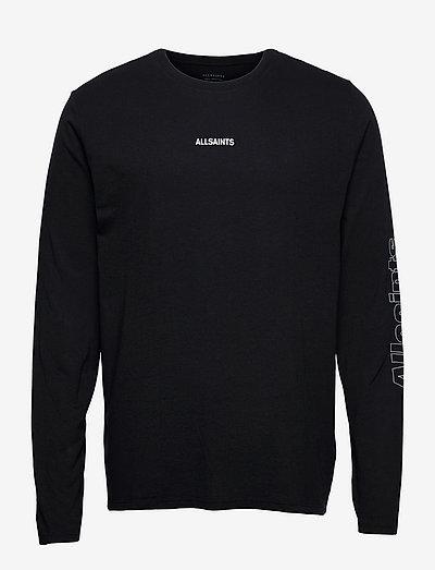 HOLLOWPOINT LS CREW - t-shirts basiques - jet black