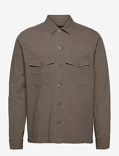 CADRE LS SHIRT - odzież - forest brown