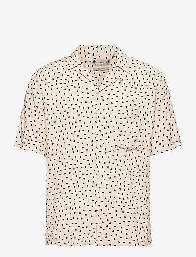 ELECTRO SS SHIRT - chemises de lin - ecru