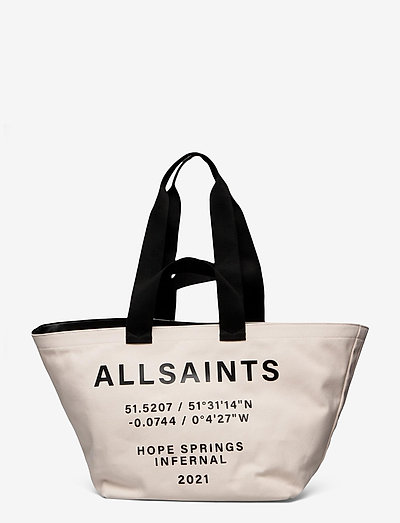 PRINTED CLARENDON - tote bags - warm white