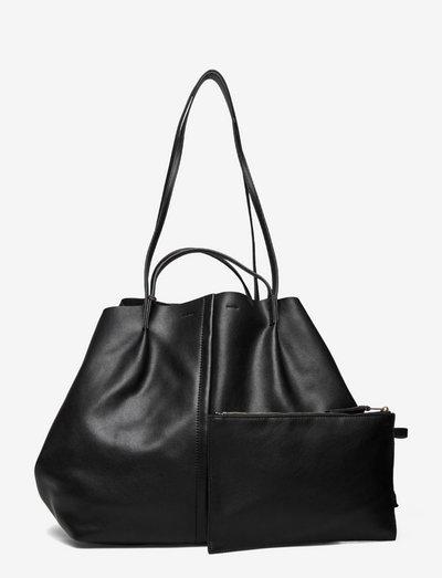 NADALINE E/W TOTE - shoppers & tote bags - black