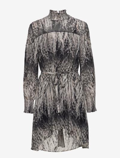 ELITA PEMBURY DRESS - korte jurken - black