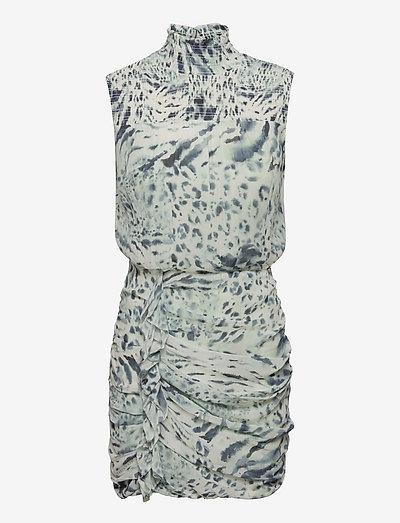 ELENA PERPETUA DRESS - bodycon dresses - soft grey