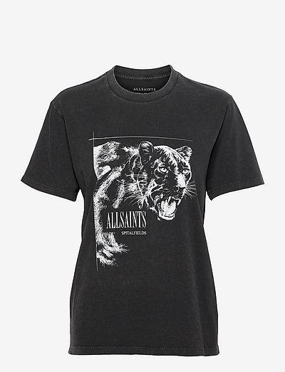 PANTHERA BOYFRIEND T - t-shirts - vintage black