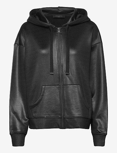 HORIZON CHLO ZIP HOO - sweatshirts en hoodies - black