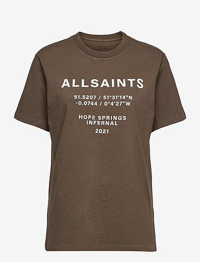 CO-ORDINATES BF TEE - t-shirts & tops - khaki green