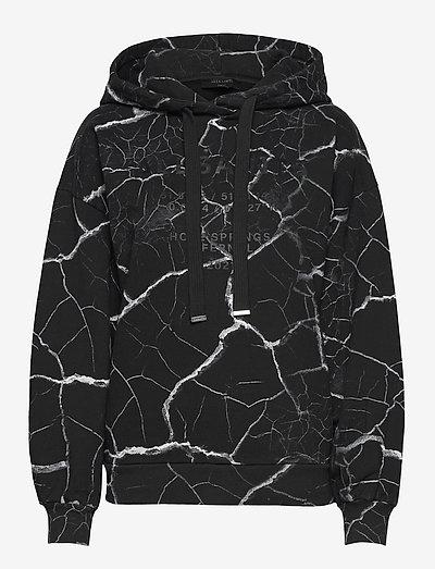 HOPE JEN HOODY - sweatshirts en hoodies - black