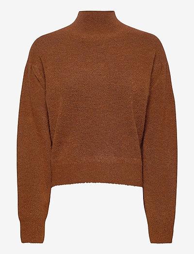 VIKA JUMPER - pullover - conker brown marl