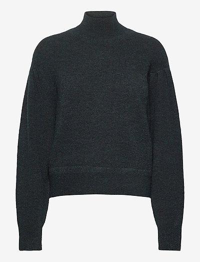 VIKA JUMPER - sweaters - forest green