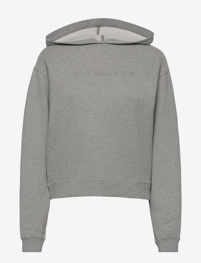 PIPPA EMBROIDERED HO - sweatshirts & hoodies - grey marl