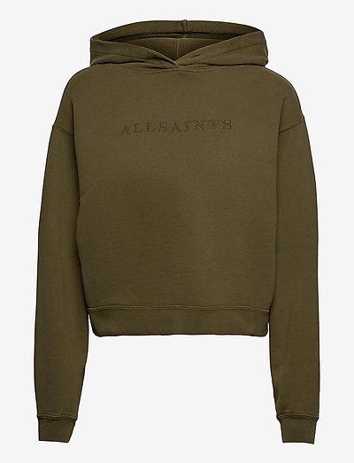 PIPPA EMBROIDERED HO - sweatshirts & hoodies - khaki green