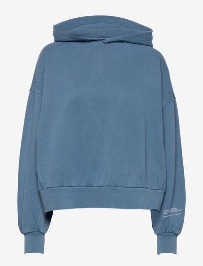 NATURAL TALIE HOODY - sweatshirts en hoodies - indigo blue