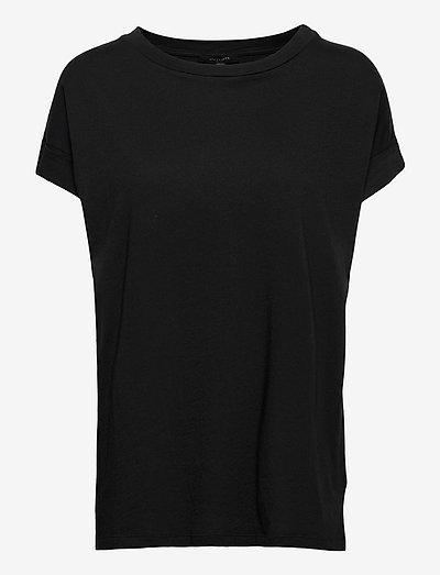 IMOGEN BOY TEE - t-shirts - black