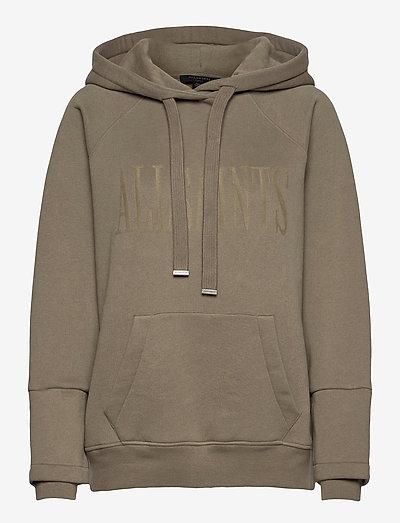 ALLSAINTS LUCIA HOOD - sweatshirts en hoodies - khaki green