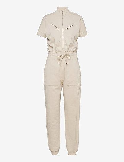 KAYLA JUMPSUIT - clothing - linnet white