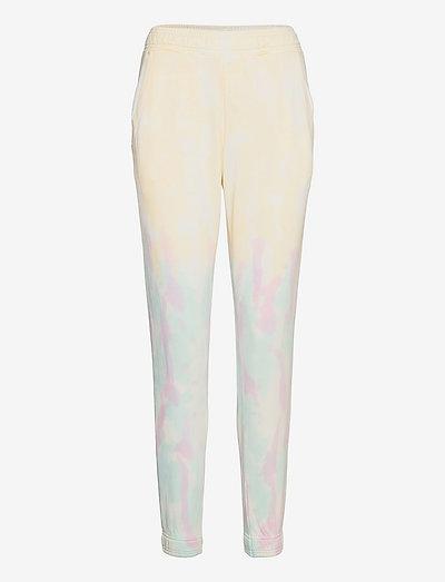 PIPPA TYDY JOGGER - broeken med straight ben - yellow/lilac