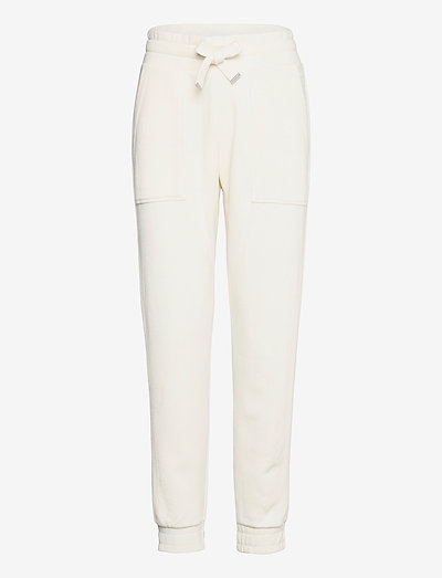 LUCIA SWEATPANTS - kleidung - warm white