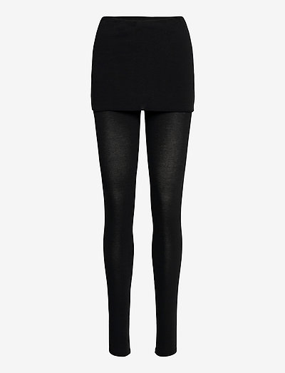 RAFFI LEGGINGS - leggings - black