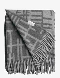Pickepin blanket - dekens - gray