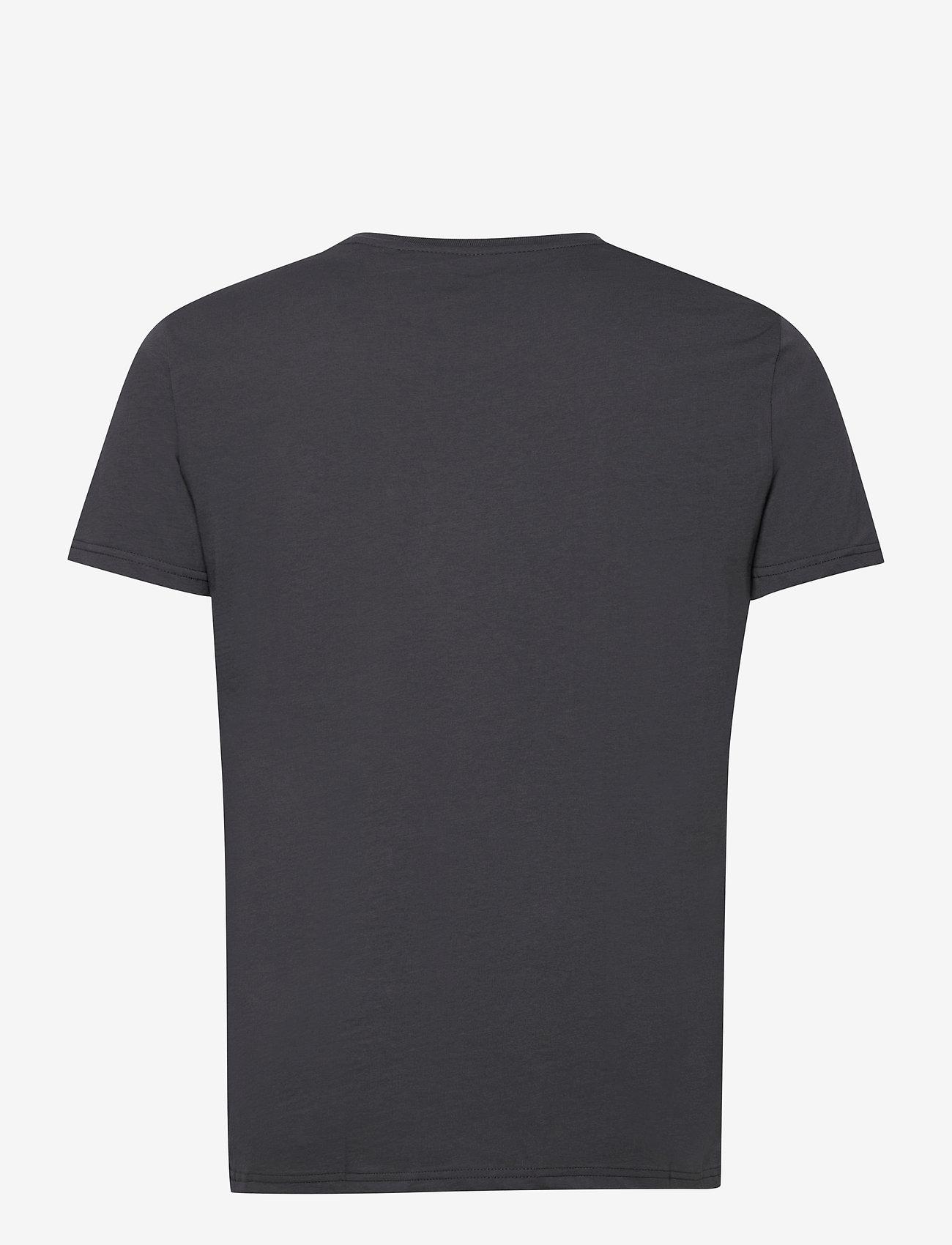 Alpha Industries - Basic T-Shirt - lyhythihaiset - greyblack/black - 1