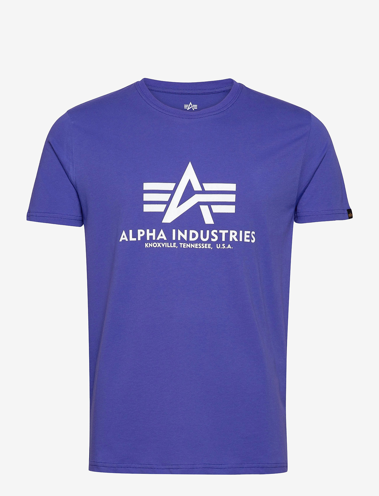 Alpha Industries - Basic T-Shirt - lyhythihaiset - nautical blue - 0