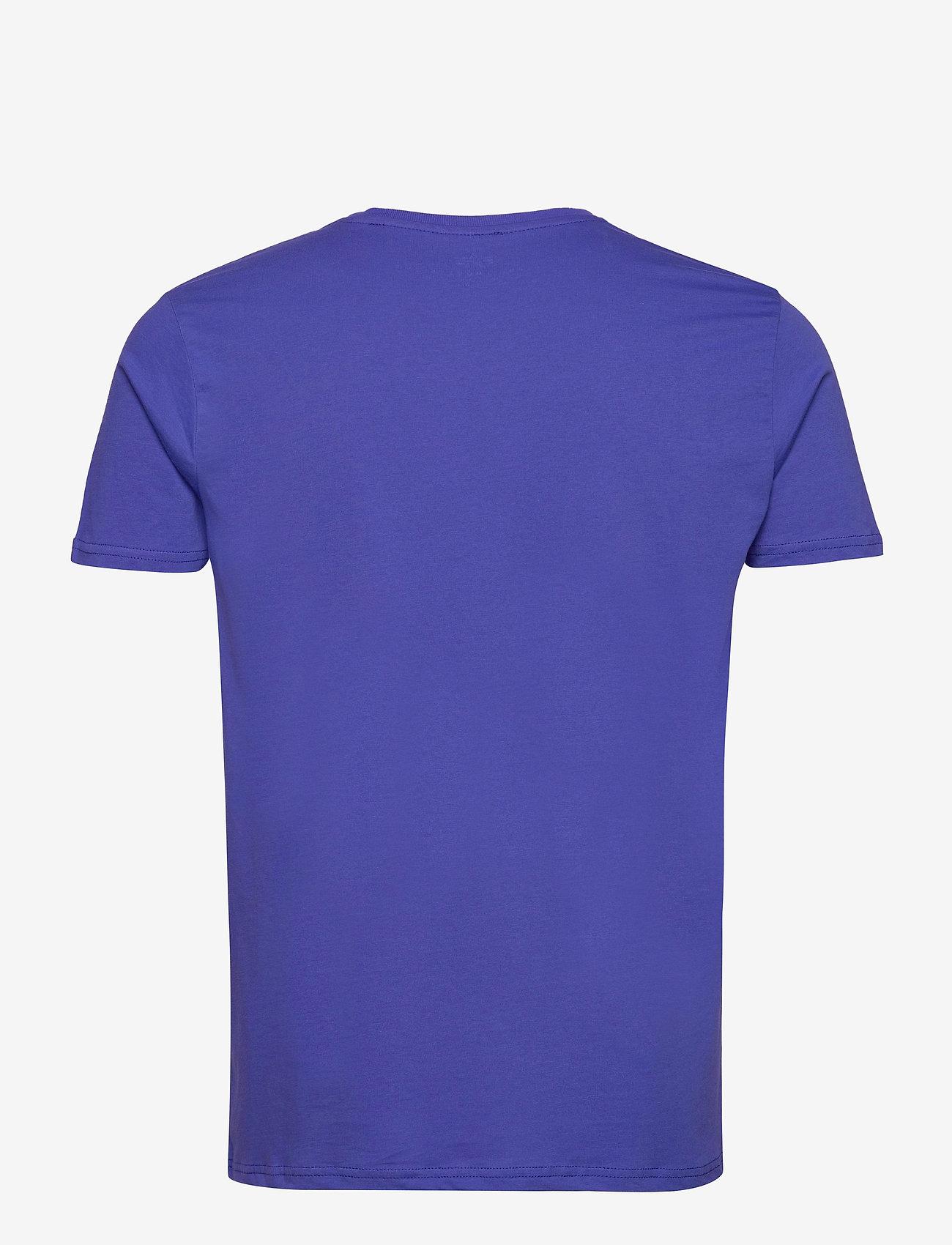 Alpha Industries - Basic T-Shirt - lyhythihaiset - nautical blue - 1