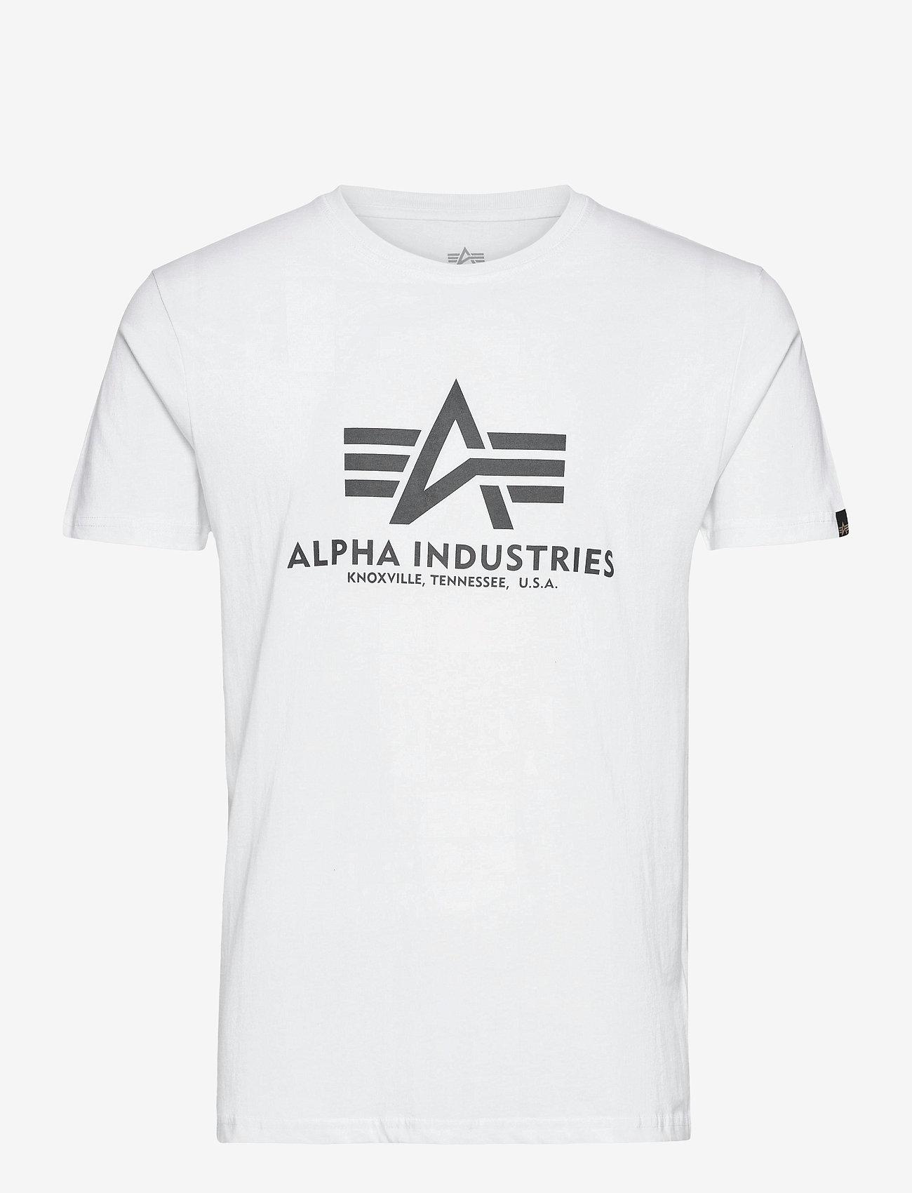 Alpha Industries - Basic T-Shirt - lyhythihaiset - white - 0