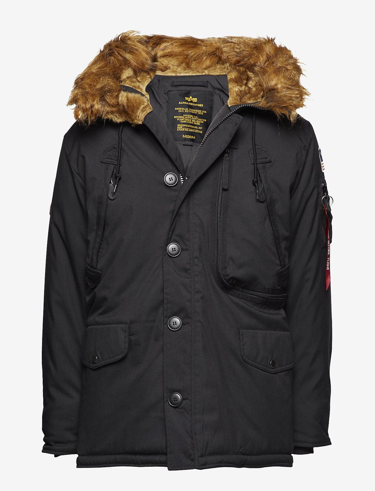 Alpha Industries - Polar Jacket - parkatakit - black - 0