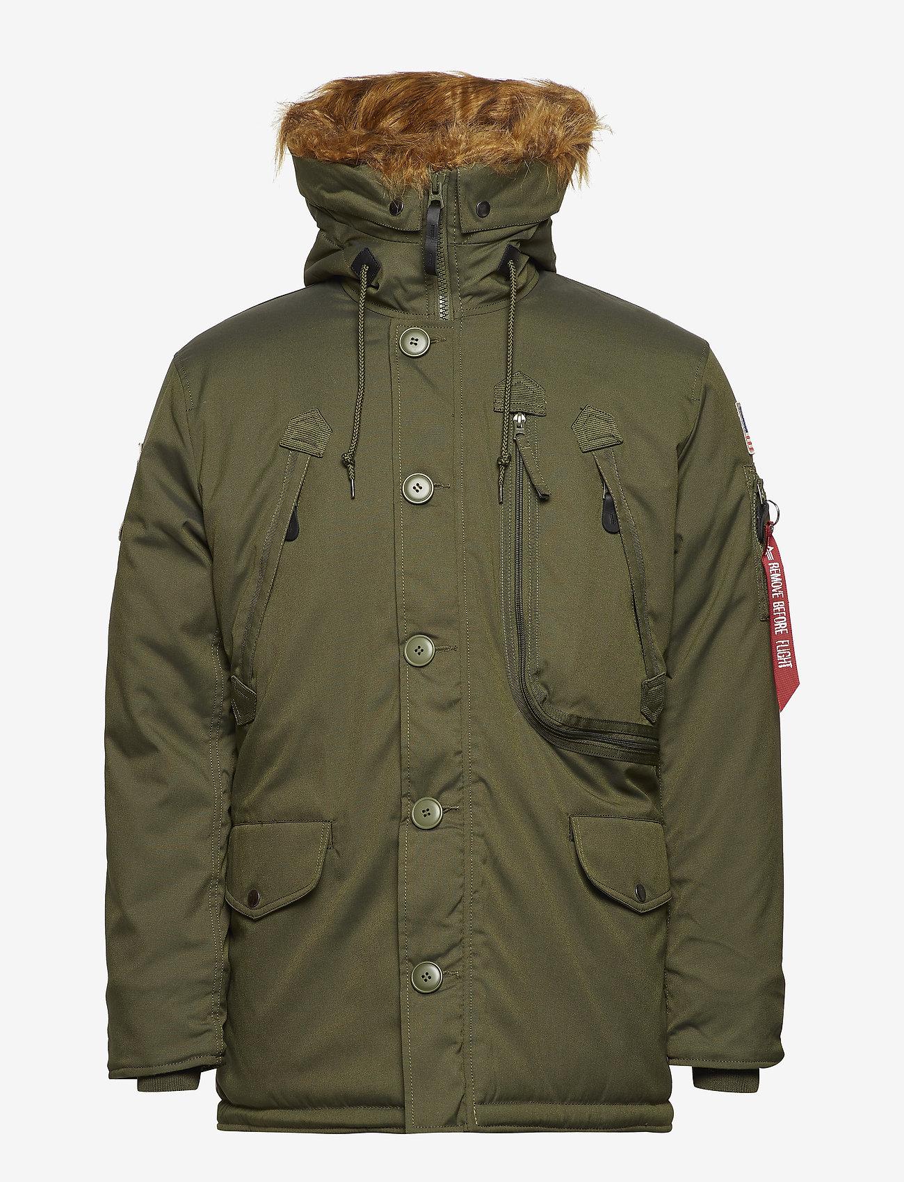Alpha Industries - Polar Jacket - parkatakit - dark green - 1
