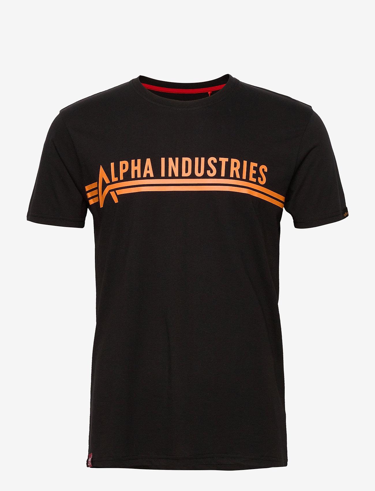 Alpha Industries - Alpha Industries T - lyhythihaiset - black - 0