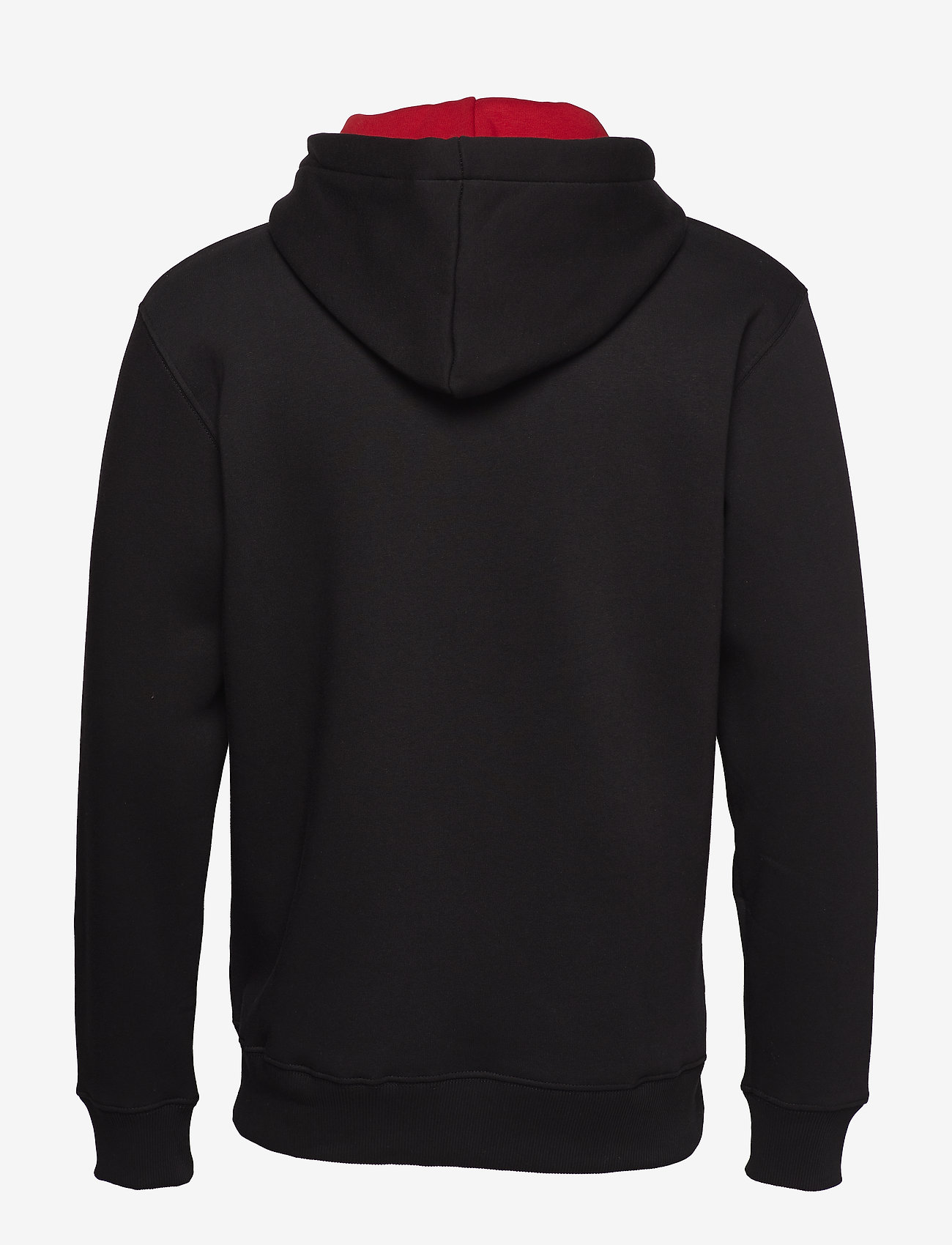 Alpha Industries - Foam Print Hoody - hupparit - black - 1