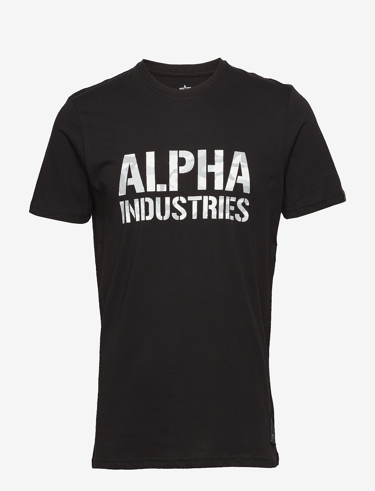 Alpha Industries - Camo Print T - lyhythihaiset - black/white - 0