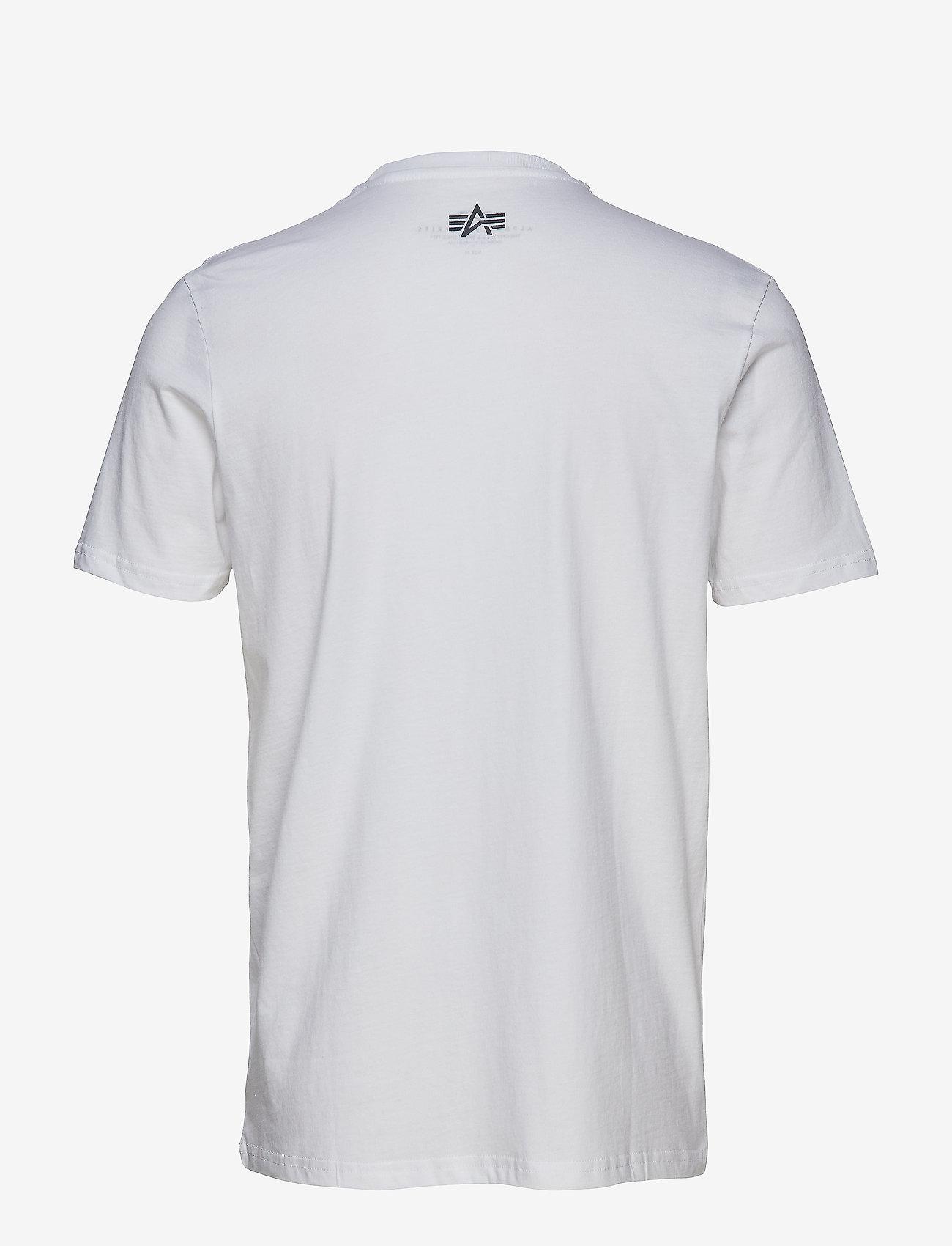Alpha Industries Camo Print T - T-skjorter WHITE - Menn Klær