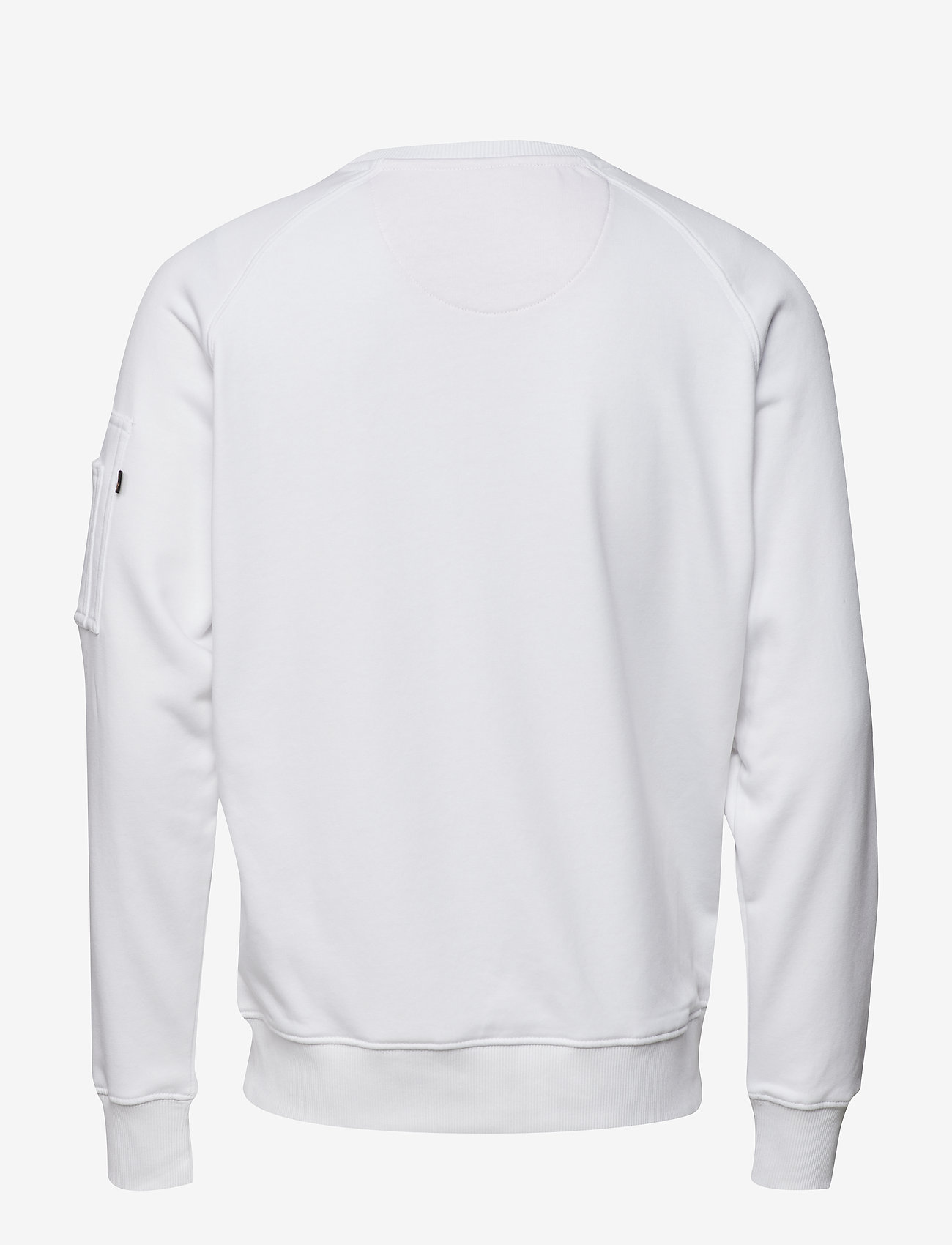 Alpha Industries X-Fit Sweat - Sweatshirts WHITE - Menn Klær