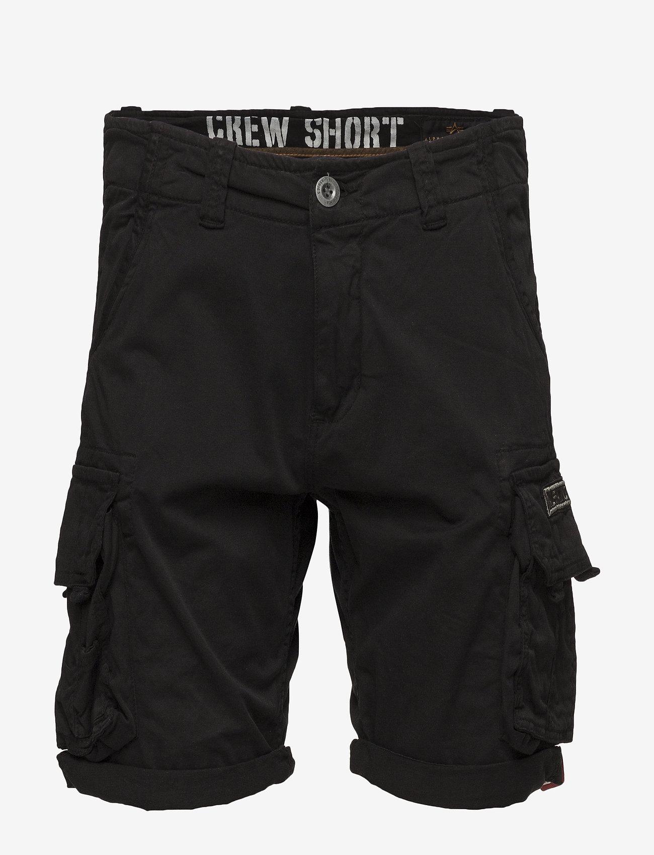 Alpha Industries - Crew Short - rennot - black - 0