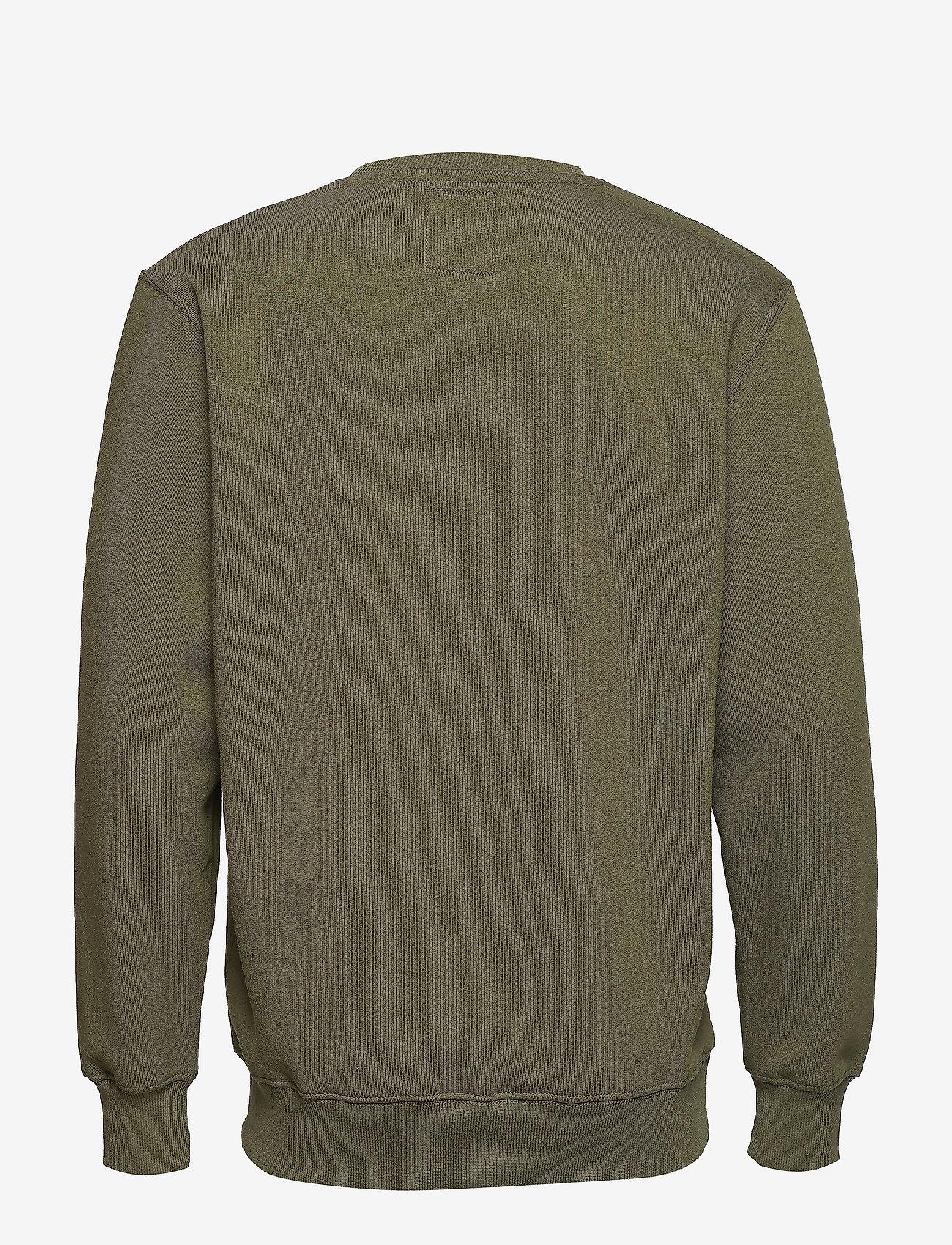 Alpha Industries - Basic Sweater - yläosat - dark green - 1